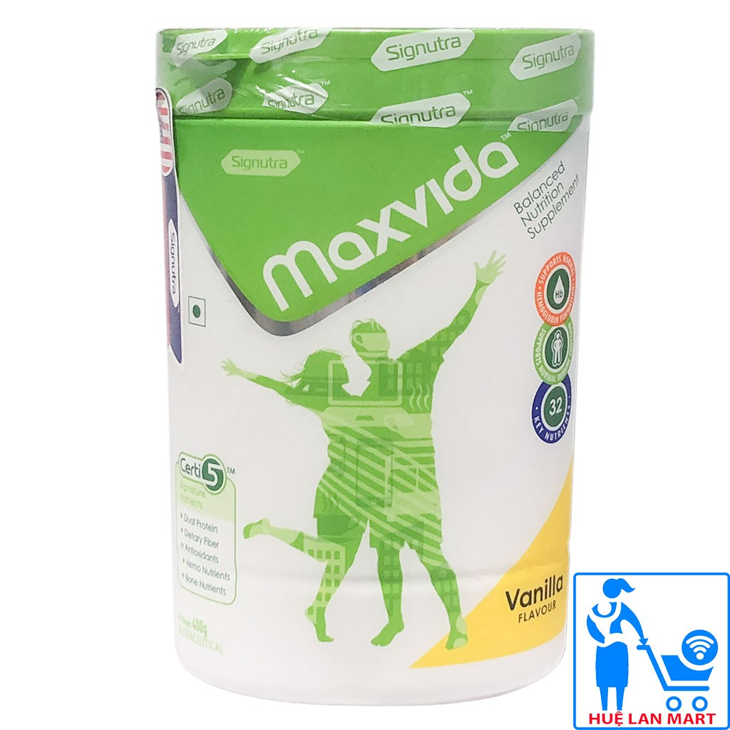 Sữa Bột Signutra Maxvida Hương Vani Hộp 400gr