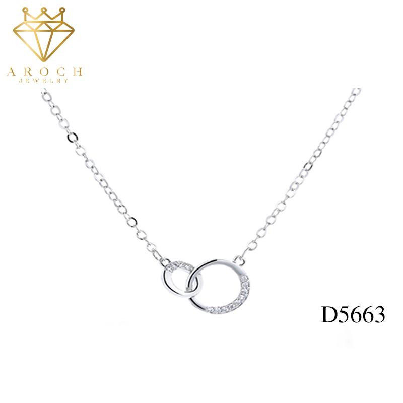 Dây chuyền bạc Ý s925 D5663 - AROCH Jewelry