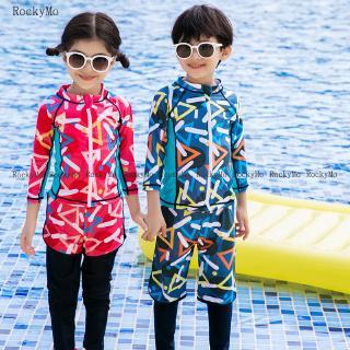 Bộ Đồ Bơi Dài Tay Chống Nắng Cho Bé Trai