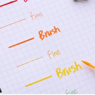Hình ảnh Winzige Brush Pen Bút lông thiết kế 2 đầu viết hoặc vẽ-6