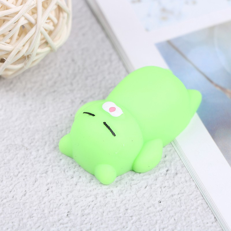 SUN55❤❤1Pc soft cute cat decompression sticky eliminate pets fun stress toys