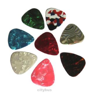 10/20/30/50X Acoustic Electric Guitar Celluloid Picks Plectrums 0.71mm Wholesale