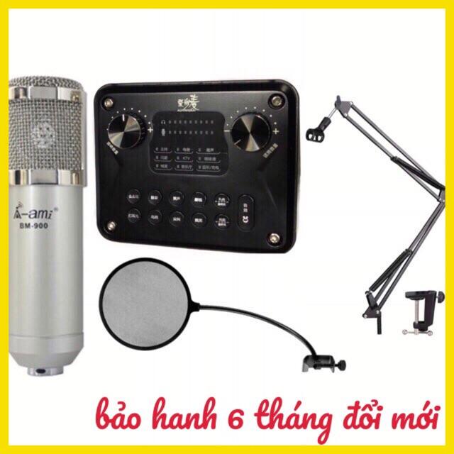 Bộ combo mic livestream thu âm hát karaoke ami bm900 card t8 pro chân màng lọc âm - 2767344 , 1037865902 , 322_1037865902 , 1300000 , Bo-combo-mic-livestream-thu-am-hat-karaoke-ami-bm900-card-t8-pro-chan-mang-loc-am-322_1037865902 , shopee.vn , Bộ combo mic livestream thu âm hát karaoke ami bm900 card t8 pro chân màng lọc âm
