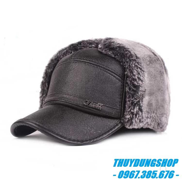 Mũ da nam trung niên rẻ đẹp 2020 MNA13