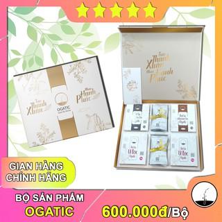 Bộ sản phẩm chăm sóc tóc Ogatic - Hàng Chính Hãng - Từ Thảo Mộc Việt Nam - An Toàn, Tự Nhiên thumbnail