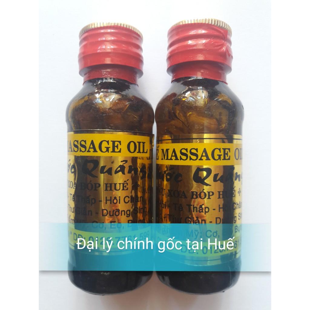 Dầu xoa bóp, massage Phước Quảng chính gốc Huế