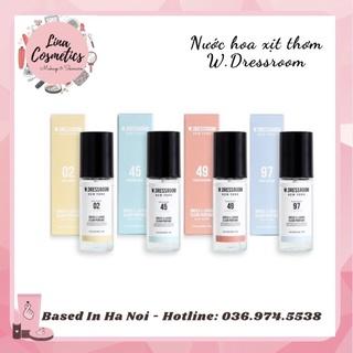 Nước Hoa W Dressroom Dress & Living Clear Perfume Mùi 49 vs 97 thumbnail