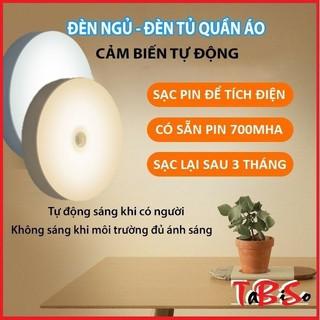 Đèn cảm ứng chuyển động TABISO, Đèn Led dán tường cảm biến thông minh không dây dán tủ quần áo, cầu thang, phòng ngủ…