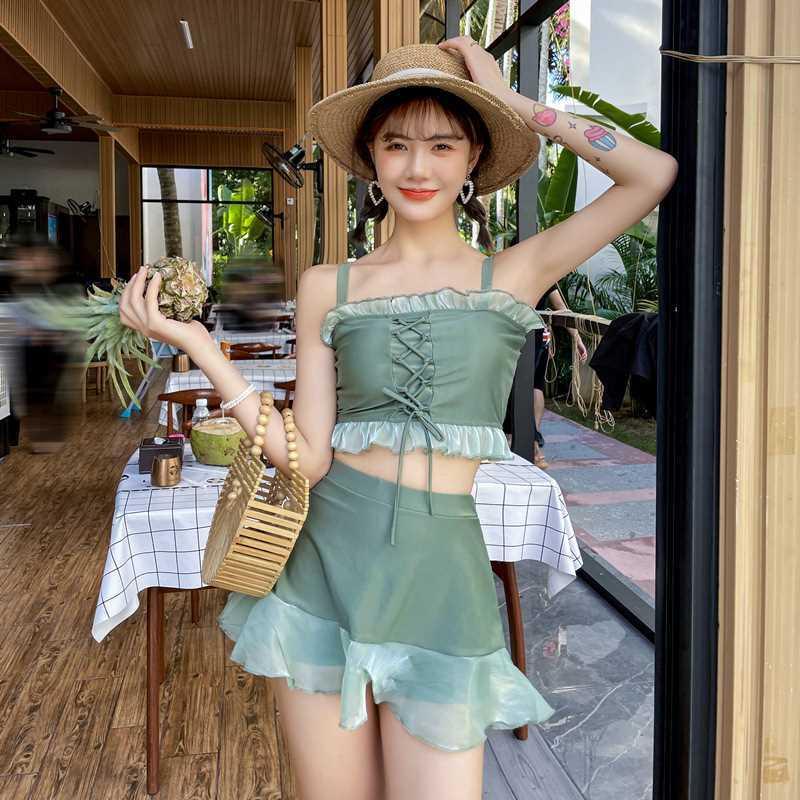 Mặc gì đẹp: Hè vui với Set Đồ Tắm Hai Mảnh Phong Cách Hàn Quốc Dành Cho Nữ