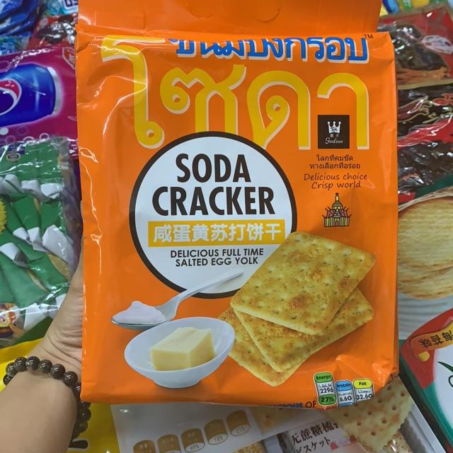 [Hàng sẵn] Bánh quy soda Craker thái lan 400 gram