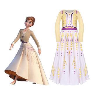 Bộ đầm hóa trang Elsa Anna trong phim Frozen hóa trang công chúa băng giá