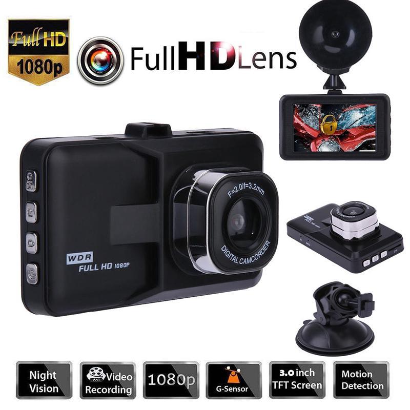 1080P HD 3.0in LCD Car DVR Dash Camera Video Recorder Night Vision G-sensor