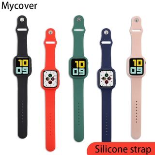 Dây Đeo Silicon Mềm 2 Trong 1 Thay Thế Cho Đồng Hồ Thông Minh Apple Watch 42mm 38mm 44mm 40mm