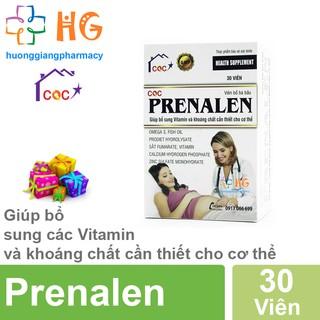 Viên bổ bà bầu CQC PRENALEN - Bổ sung vitamin và khoáng chất cho những người sắp làm mẹ và những bà mẹ đang cho con bú thumbnail