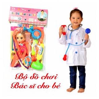 Bộ trò chơi Bác sĩ cho Bé ( có Búp Bê )