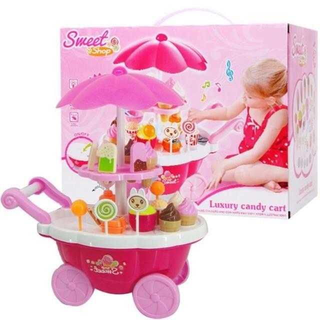 Bộ đồ chơi xe đẩy bán kem 2 tầng cho bé - 2914204 , 436287820 , 322_436287820 , 115000 , Bo-do-choi-xe-day-ban-kem-2-tang-cho-be-322_436287820 , shopee.vn , Bộ đồ chơi xe đẩy bán kem 2 tầng cho bé
