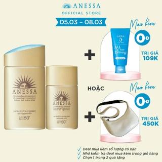 """Bộ đôi chống nắng bảo vệ hoàn hảo Anessa Perfect UV Sunscreen Skincare Milk giá chỉ còn <strong class=""""price"""">59.900.000.000đ</strong>"""