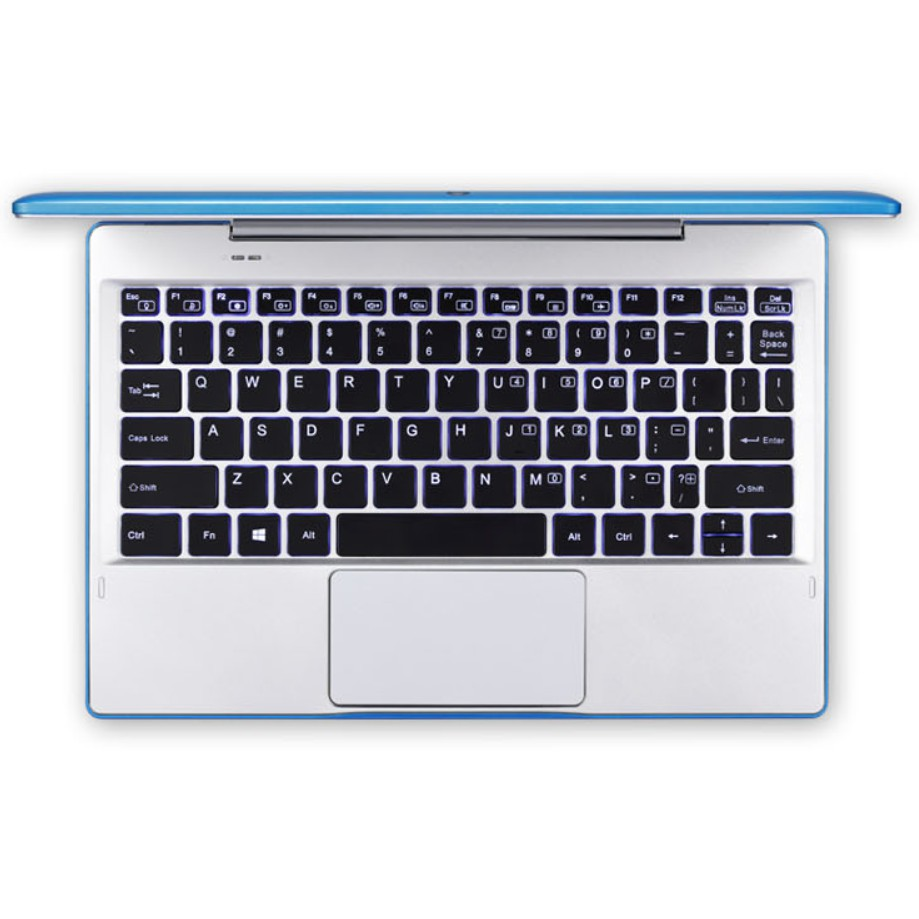 Laptop 2 trong 1 HAIER III W11162 vỏ nhôm nguyên khối màn hình cảm ứng 11.6 inch 4GB RAM 64GB - Tặng kèm dock bàn phím