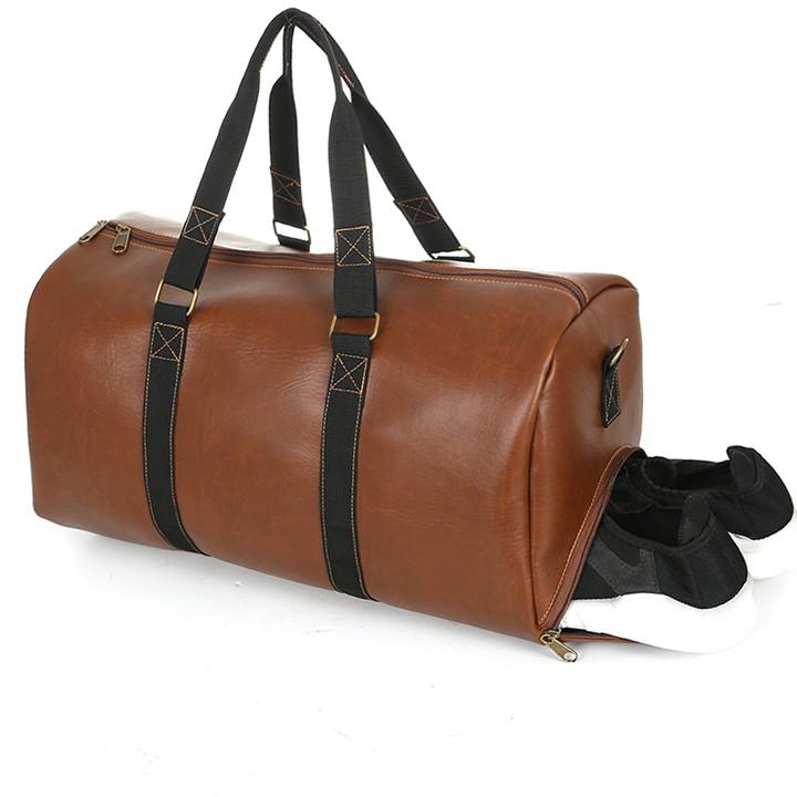 Túi du lịch cỡ lớn HANAMA quai xách dù siêu bền, có ngăn riêng đựng giày N11