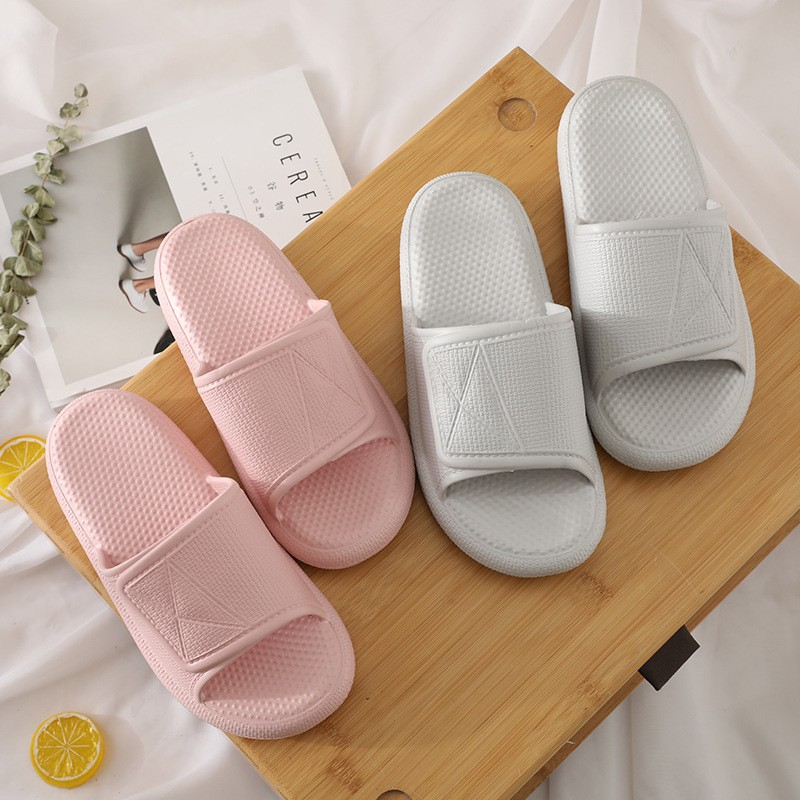 a couple sandals and slippers men EVA home indoor and outdoo