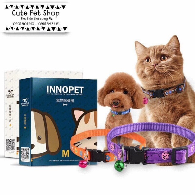 Vòng cổ trị ve rận Innopet cho cún mèo?? - 3146674 , 560546245 , 322_560546245 , 60000 , Vong-co-tri-ve-ran-Innopet-cho-cun-meo-322_560546245 , shopee.vn , Vòng cổ trị ve rận Innopet cho cún mèo??
