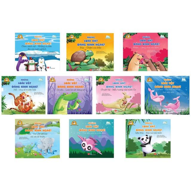 Sách - Combo 10 cuốn Những Loài Vật Đáng Kinh Ngạc!