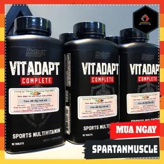 Nutrex Vitadapt -Ông vua Vitamin khoáng chất thể thao Bổ Sung Vitamin & Khoáng Chất và tăng Tes tự nhiên, 90 viên