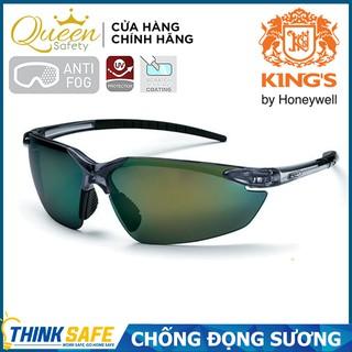 Kính bảo hộ King s KY715 chống đọng sương, chống bụi, chống trầy xước (XANH ĐEN) thumbnail