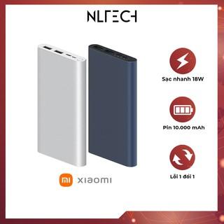 [ HÀNG CAO CẤP ] Pin sạc dự phòng Xiaomi Gen 3 10000mAh – Lỗi đổi mới trong 30 ngày