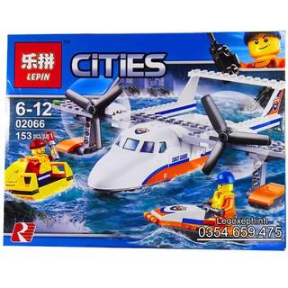 Bộ Lego Xếp Hình Ninjago City Siêu Máy Bay Tuần Tra. Gồm 153 Chi Tiết. Lego Ninjago Lắp Ráp Đồ Chơi Cho Bé. Lego City