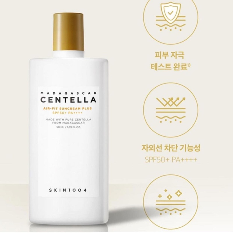 Mẫu Mới] Kem Chống Nắng Skin1004 Madagascar Centella Air-Fit Suncream Plus  SPF50+ 50ml | Shopee Việt Nam