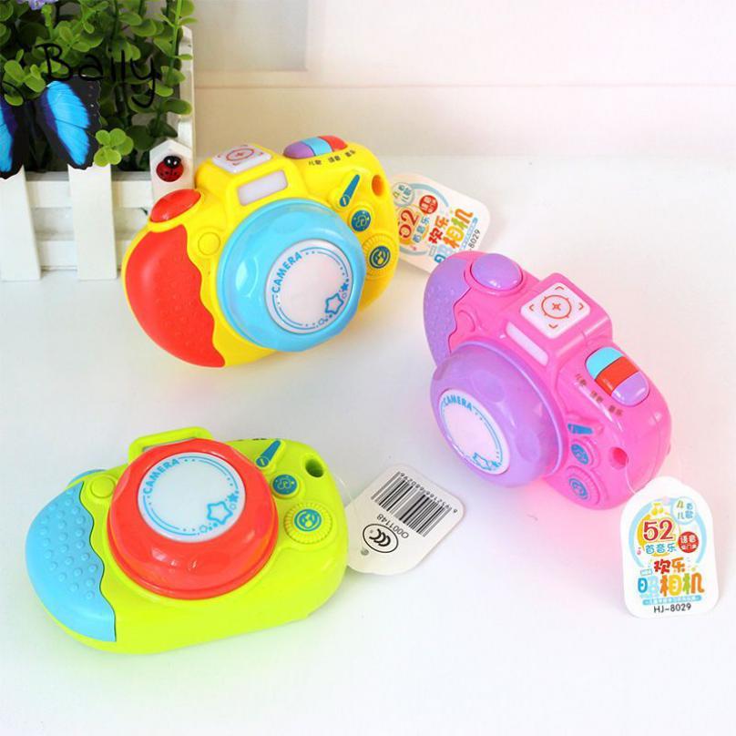 Baily Đồ chơi máy ảnh bài hát cho em trẻ với âm nhạc