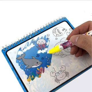 Sách ảnh nước tô màu cho bé