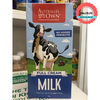 Sữa Tươi Nguyên Kem ÚC Australia's Own 1L (DATE MỚI NHẤT)