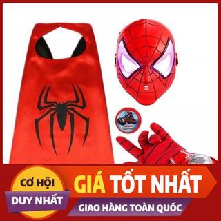 bộ đóng giả siêu nhân nhện cho bé siêu hót