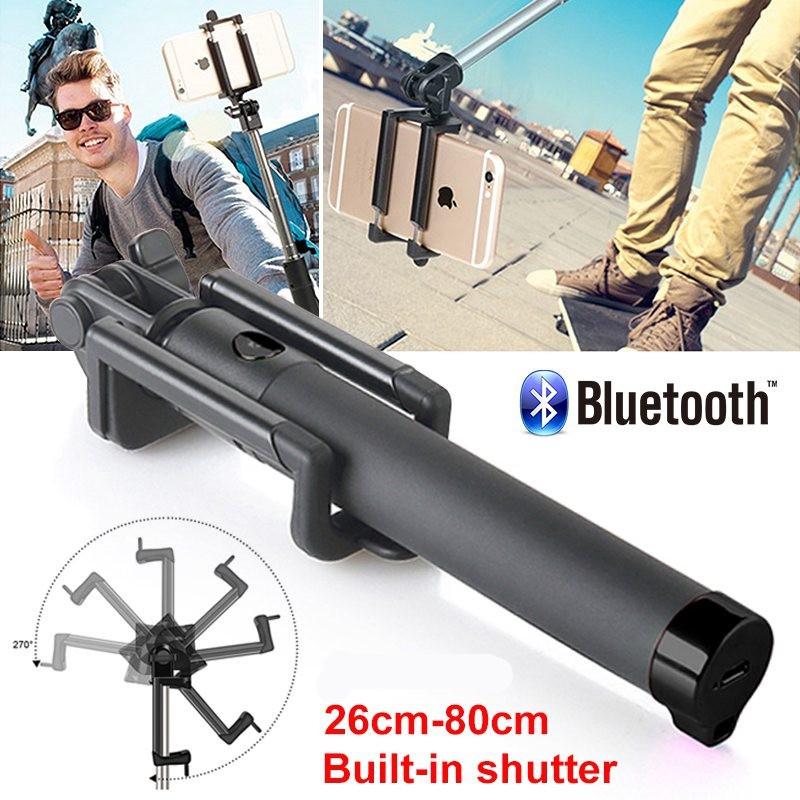Foldable USB Bluetooth Selfie Stick Portable Lightweight Selfie Stick for Phone