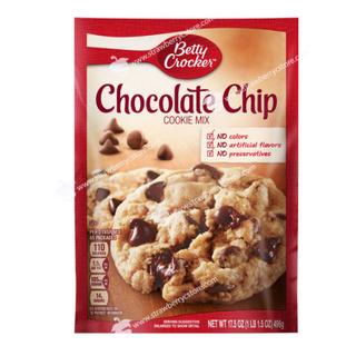 [USA] Bột Làm Bánh Cookie Pha Sẵn Betty Crocker Chocolate Chip Cookie Mix (Gói 496gr, 17.5 Oz.)