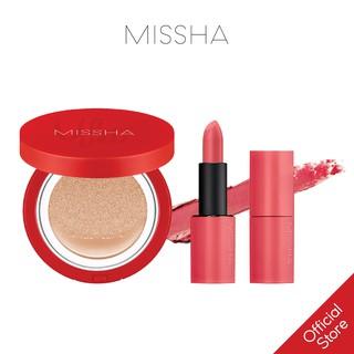 [COMBO] Son Lì MISSHA Dare Rouge 3.5g + Missha Velvet Finish Cushion SPF50+ PA+++ 15g thumbnail