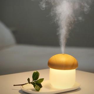 [Mã ELFLASH5 giảm 20K đơn 50K] Máy phun sương mini hình nấm tạo ẩm không khí kiêm đèn ngủ Jisulife chính hãng