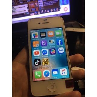 siêu phẩm đi cùng năm tháng , iphone 4s viền thép ko gỉ dùng làm máy phụ tuêtj vời