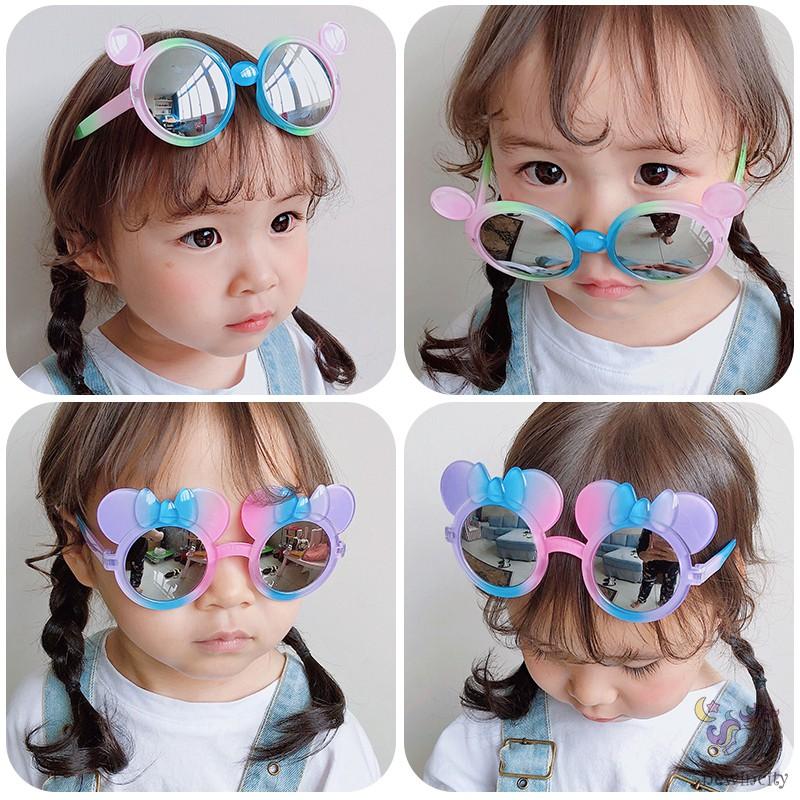 Kính mát chống tia UV400 thiết kế nhiều màu sành điệu cho bé