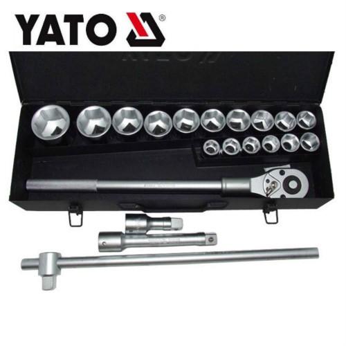 """Bộ tuýp tay vặn tổng hợp 3/4"""" 21 chi tiết YATO YT-1335"""