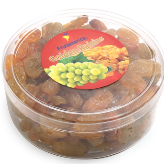 Nho khô Golden Jumbo Frutamerica 250g nhập khẩu CHI LÊ
