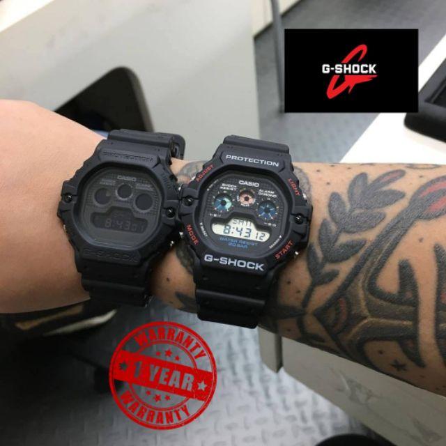 นาฬิกา G-Shock รุ่น DW-5900BB นาฬิกาข้อมือ สายเรซิ่น