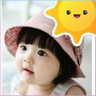 (Hàng chọn lọc)Sản phẩm nón 2 mặt no cho bé gái từ 9-24 tháng