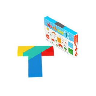 Xếp gỗ chữ T – Trò chơi kích thích sáng tạo