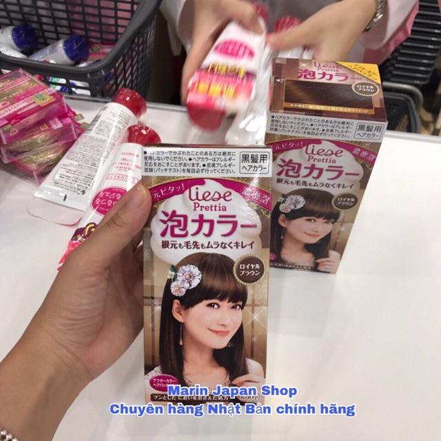 (Bill kèm)Thuốc nhuộm tóc dạng bọt của Kao Liese Prettia Nhật Bản - 3491147 , 1264244929 , 322_1264244929 , 250000 , Bill-kemThuoc-nhuom-toc-dang-bot-cua-Kao-Liese-Prettia-Nhat-Ban-322_1264244929 , shopee.vn , (Bill kèm)Thuốc nhuộm tóc dạng bọt của Kao Liese Prettia Nhật Bản