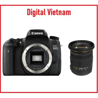 Máy Ảnh Canon EOS 800D Body + Sigma 17-50mm F2.8