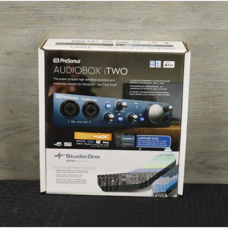 Soundcard Presonus Audiobox iTwo