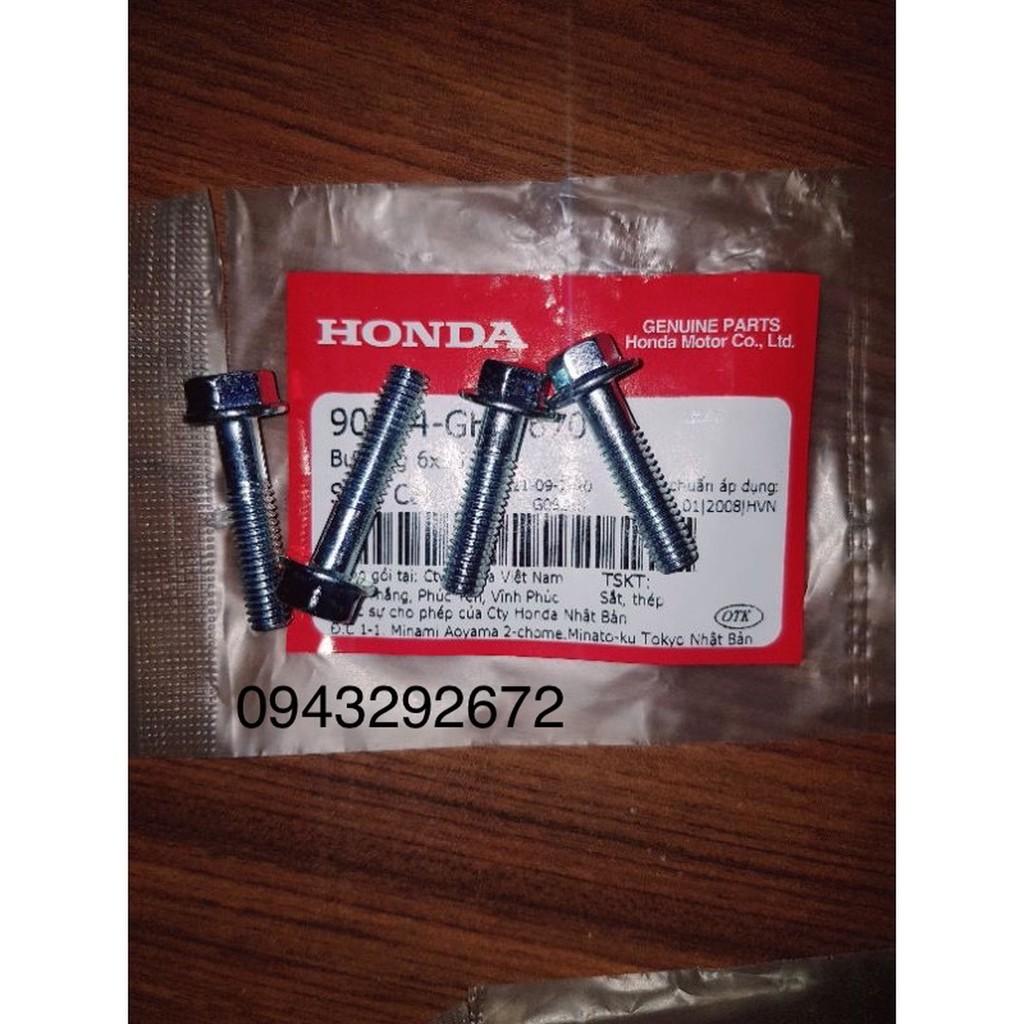 Bộ ốc bắt cổ hút Dream, Wave Honda ( 4 Con )